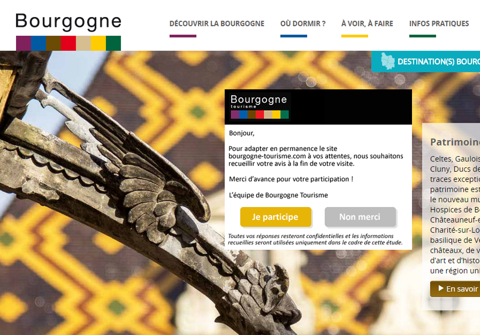 Festival du Film Touristique de Concarneau - CRT Bourgogne