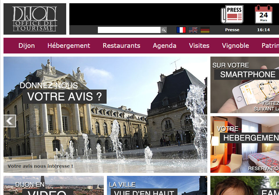 Festival du Film Touristique de Concarneau - Dijon