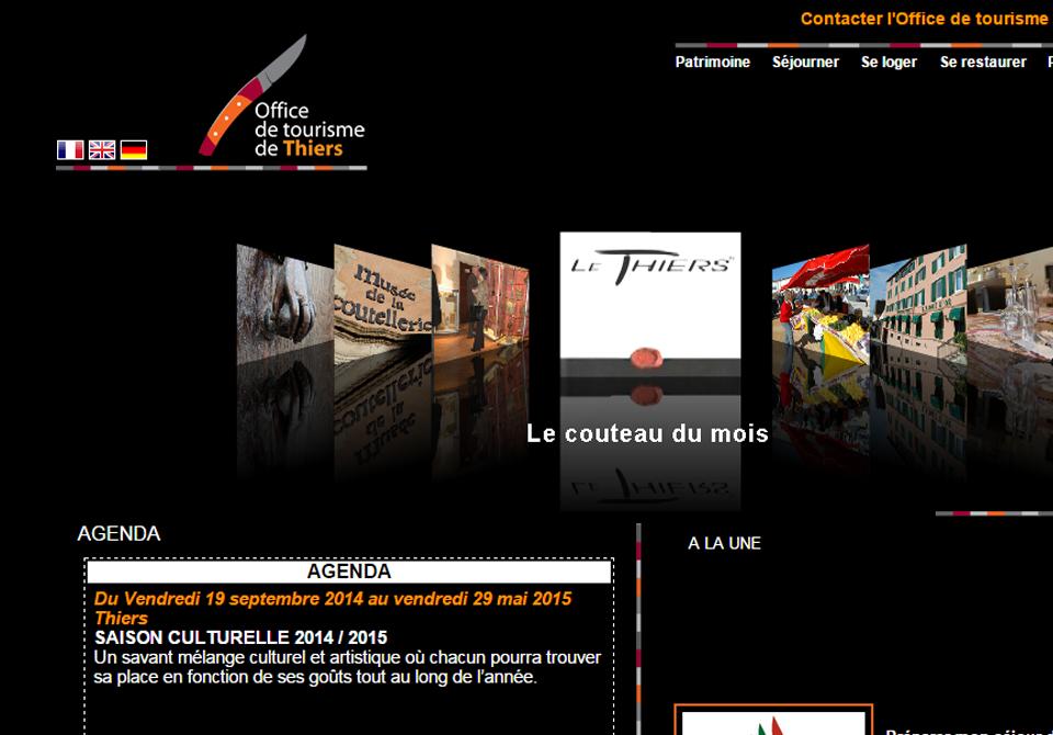 Festival du Film Touristique de Concarneau - OT de Thiers